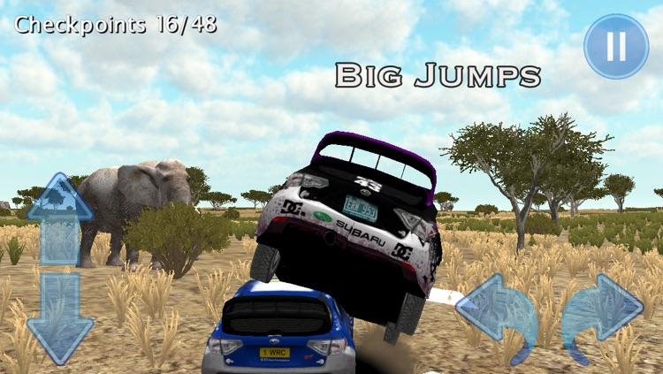 African Rally Race 3D : 4x4 Real Kruger Safari Racing screenshot-4