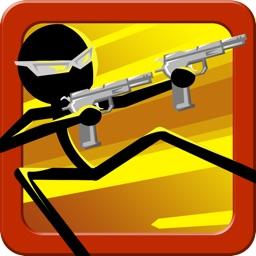Run Stickman Sniper Run Free