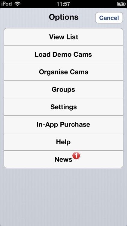 Viewer for Panasonic Cams screenshot-4
