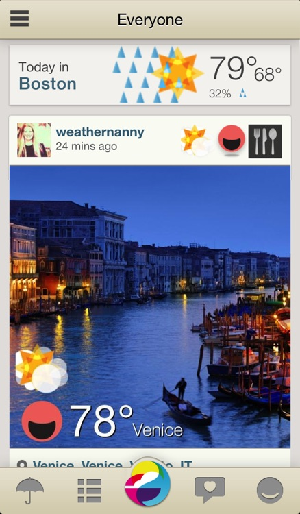 Weathermob - Social Weather Reporting, and Local and Global Weather Reports
