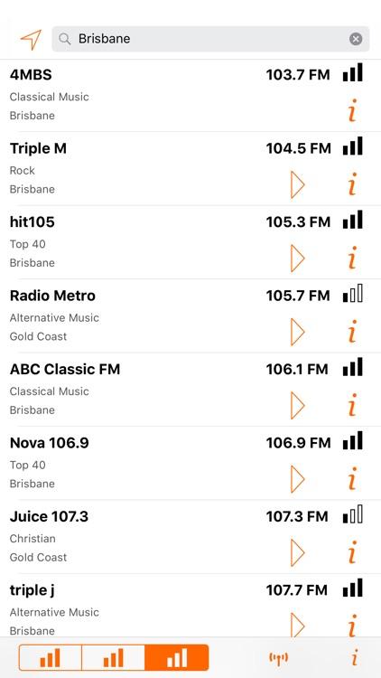 Radio Guide Australia screenshot-3