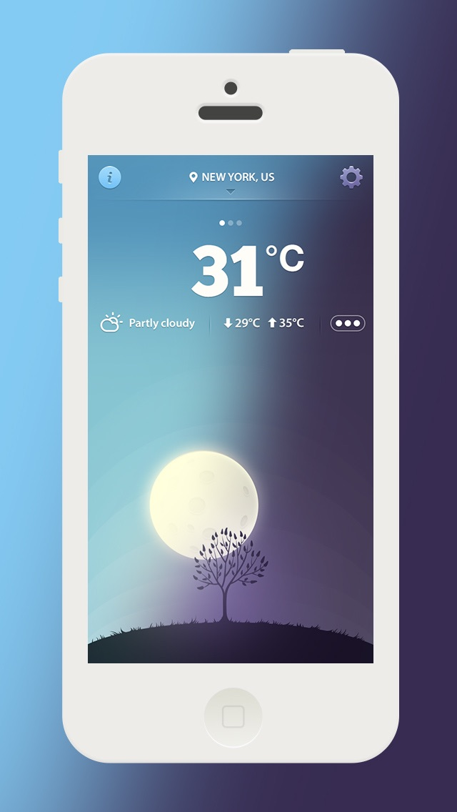 Simple Weather Free Screenshot
