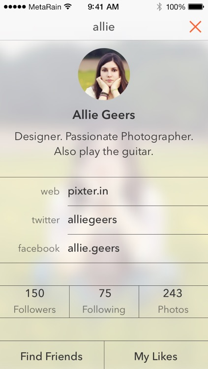 Pixter for iOS