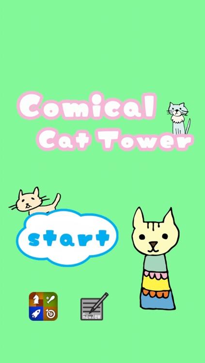 Comical Cat Tower