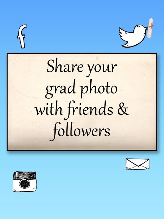 Graduate Me Graduation Picture Editor screenshot-4