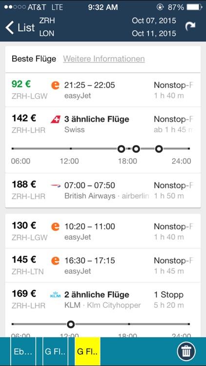 Zurich Airport (ZRH) Flight Tracker screenshot-4
