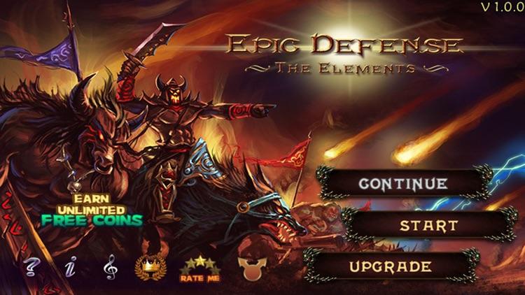 Epic Defense TD - the Elements