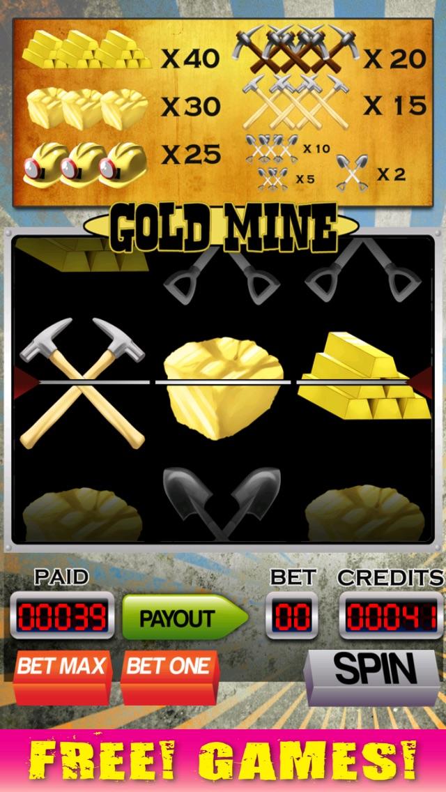 A Gold Mine Slot Machine with Blackjack and Bonus Wheel-0