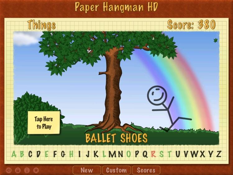 Paper Hangman HD