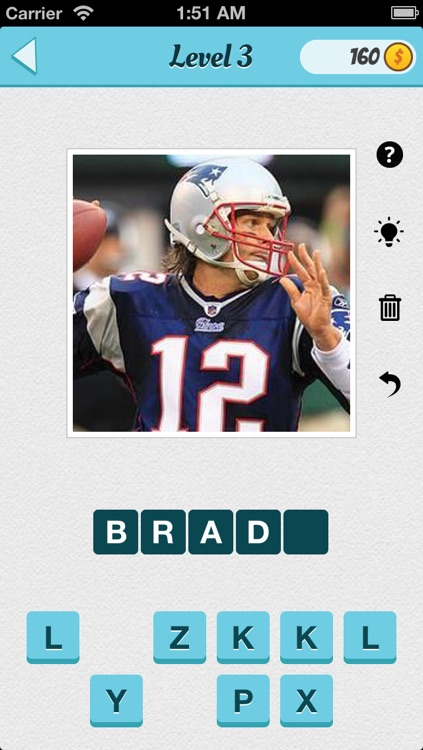 Wubu Guess the Footballer - American Football - FREE Quiz Game screenshot-2