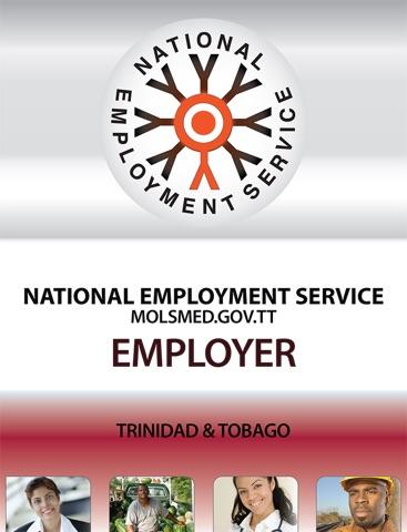 Screenshot of NES Employer
