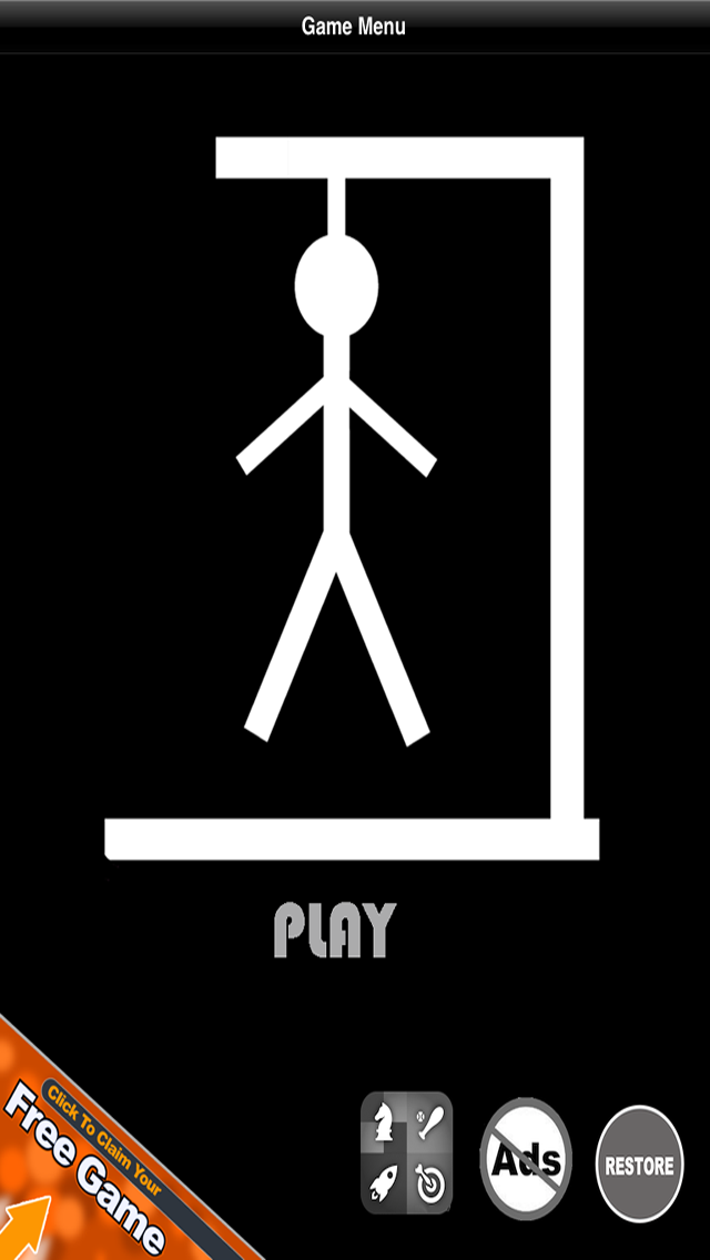 Hangman - Free for iPhone screenshot one
