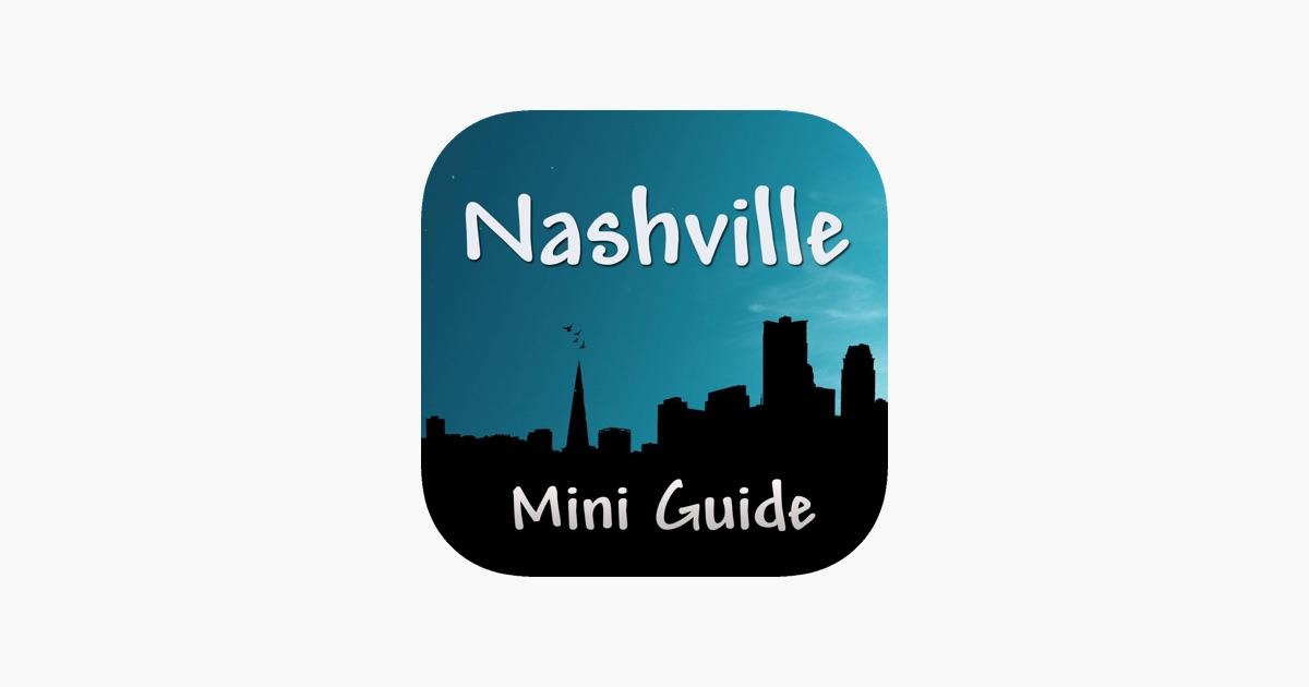 Nashville Mini Guide On The App Store