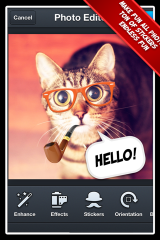 Photo Editor Pro+ 2 Free: The Best Portrait Effect Editor for Facebook screenshot 3