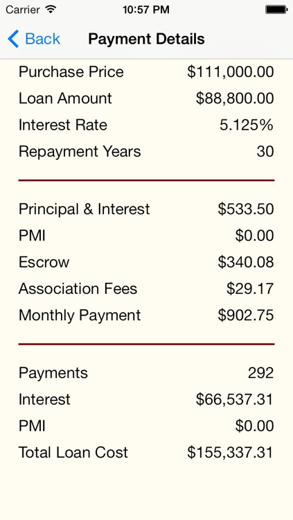 Mortgage+ screenshot-1