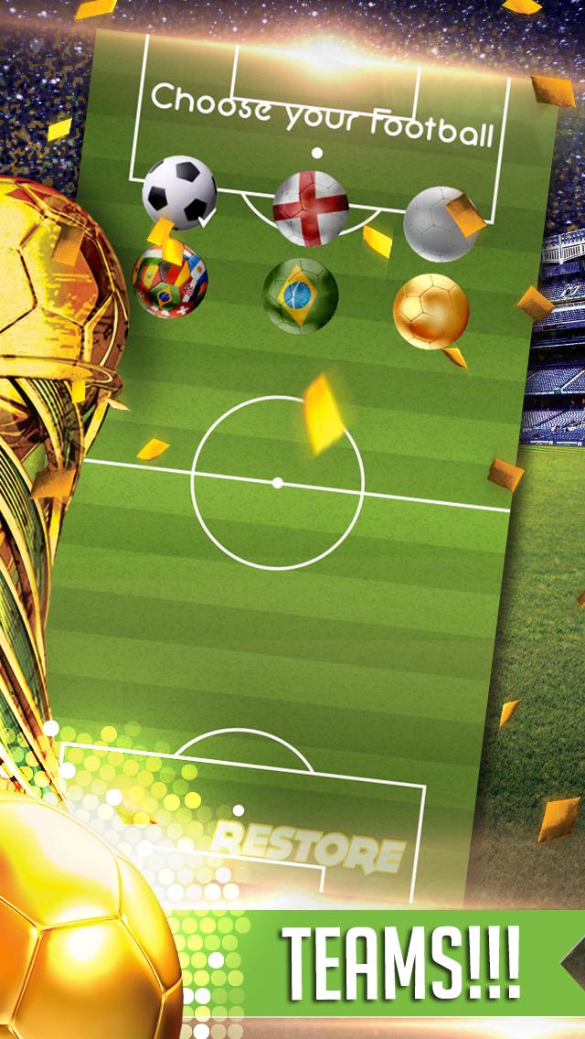 Flickin Balls Golden Boot World Soccer Striker-2