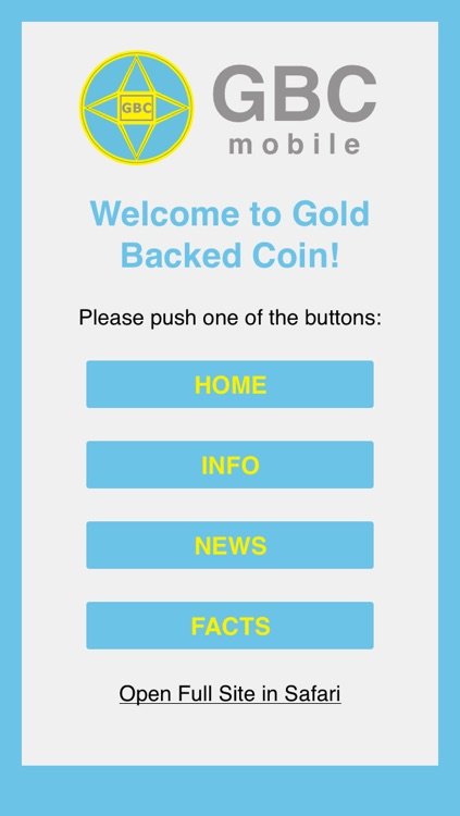 GBC – Gold Backed Coin