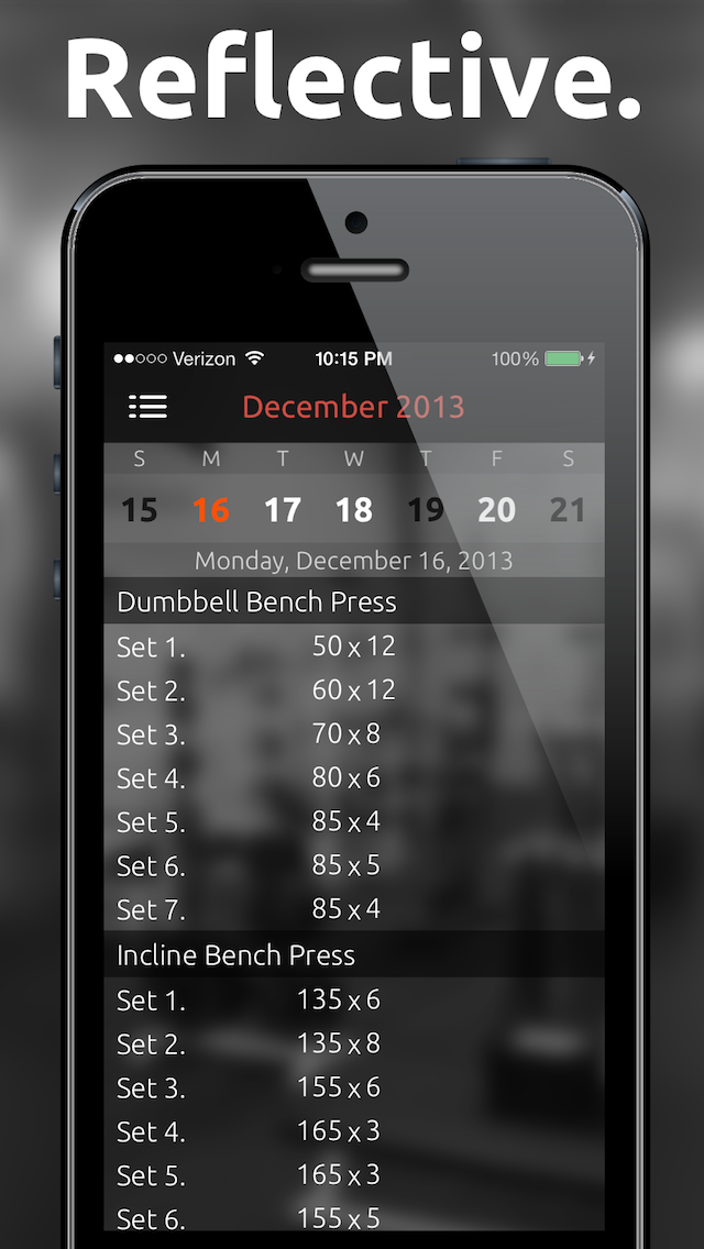 Fitted Lifts - Workout log and exercise tracker for bodybuilding and weight trainingのおすすめ画像5
