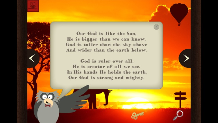 Owlegories: The Sun - A Gospel-Centered, Bible-Based Storybook for Kids