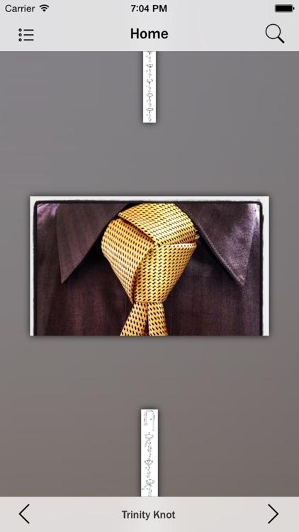 Necktie Knots screenshot-4