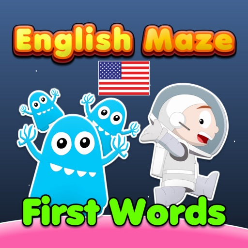 English Maze: First Words HD (US English)