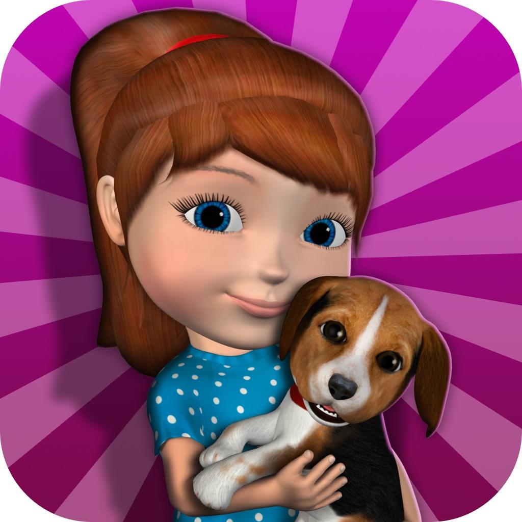 Talking Anya Dress Up and Pet Puppies