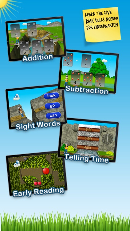 Timmy's Kindergarten Adventure - Fun Math, Sight Words and Educational Games for Kids