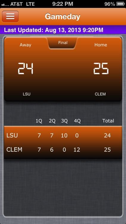 Clemson Football Live screenshot-3