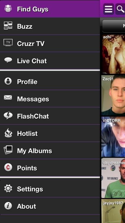 Cruzr Gay Chat screenshot-4