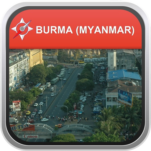 Offline Map Burma (Myanmar): City Navigator Maps