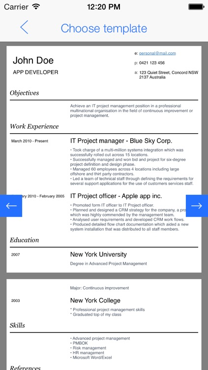 My First Resume - For first-time job seekers screenshot-4