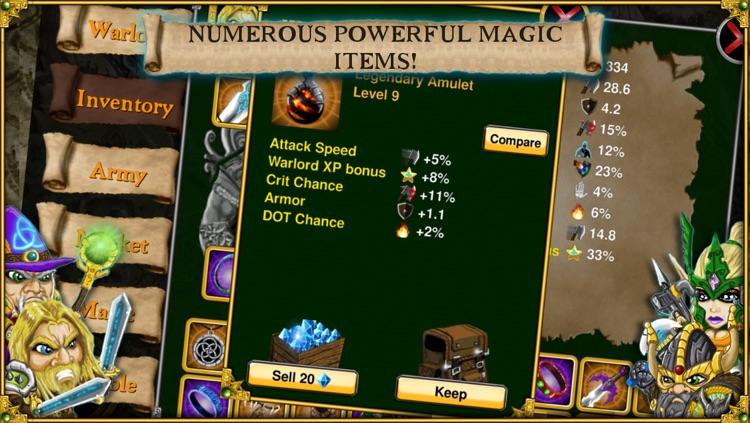 Warlords RTS screenshot-3