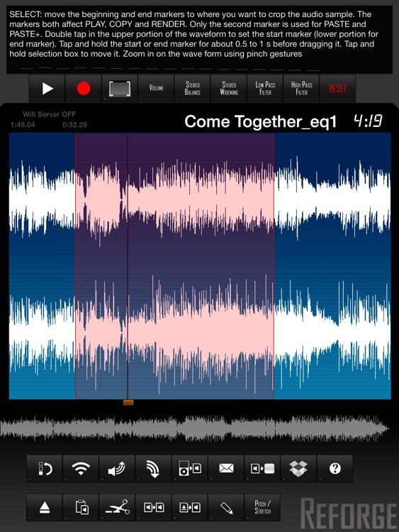Reforge - Waveform Editor screenshot-4