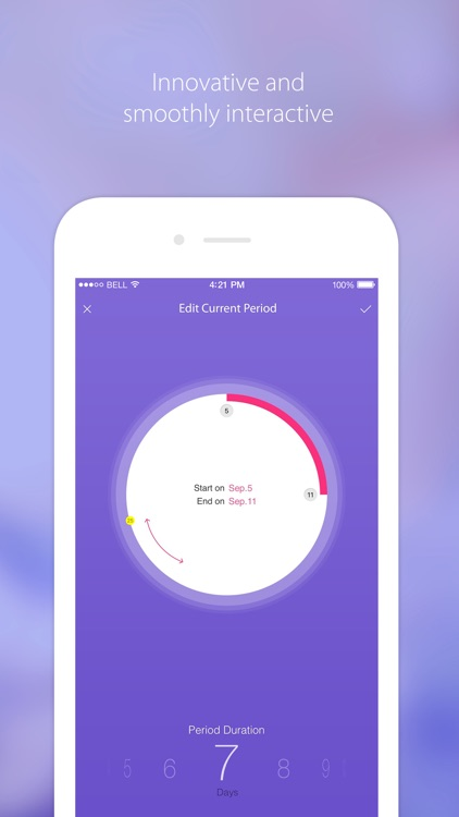 Period Tracker - Menstrual & Ovulation Calendar screenshot-3