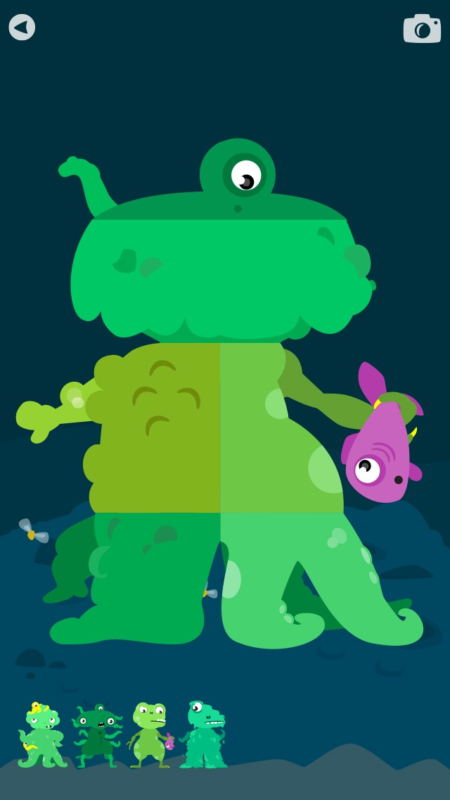 MooPuu FREE - The Animated Monster Puzzle screenshot four