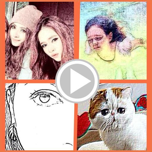 Toongram - Cartoon video maker for Instagram