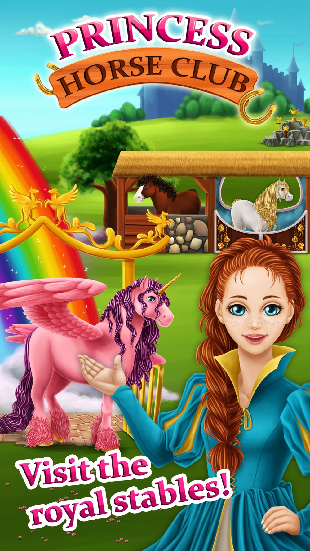 Princess Horse Club – Royal Pony Spa, Makeover and Carriage Decoration Cheat Codes