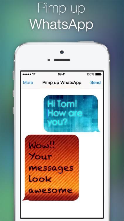 Pimp up for WhatsApp