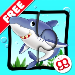 Ocean Jigsaw Puzzles 123 Free - Word Learning Puzzle Game for Kids