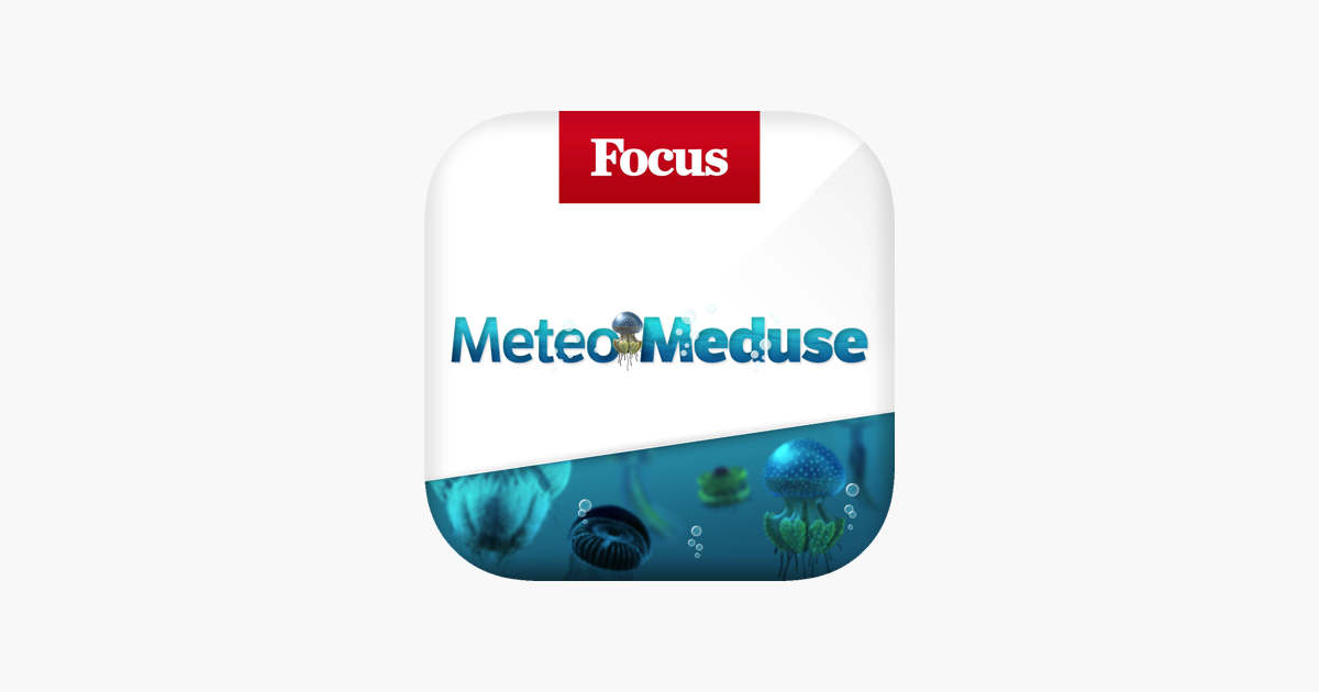 Focus Meteo Meduse dans l'App Store
