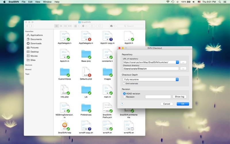 Snailsvn review screenshots