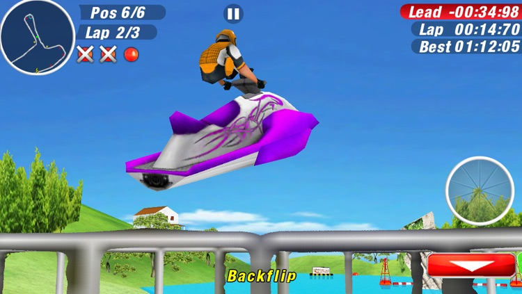 Aqua Moto Racing 2 screenshot-3
