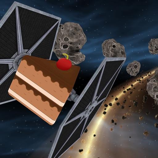Asteroid Star - Cake Space Dash