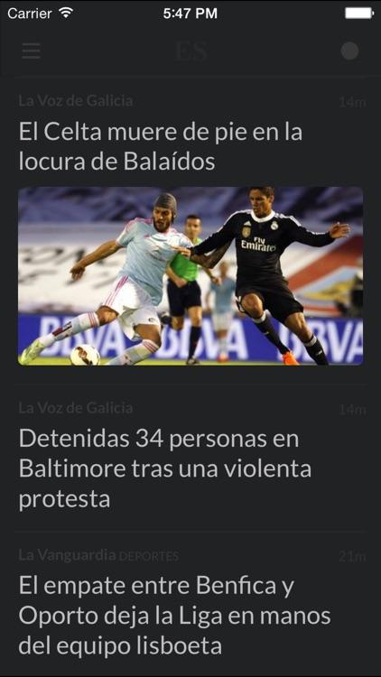 Periódicos ES - Los mejores diarios y noticias de la prensa en España screenshot-4