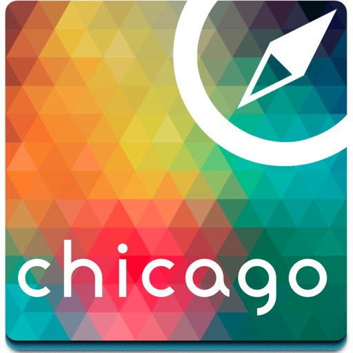 Chicago offline map, guide & hotels