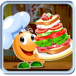 Tower Sandwich Free - Food Maker Game