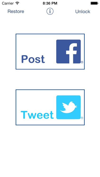 QuickPost for Facebook & Twitter