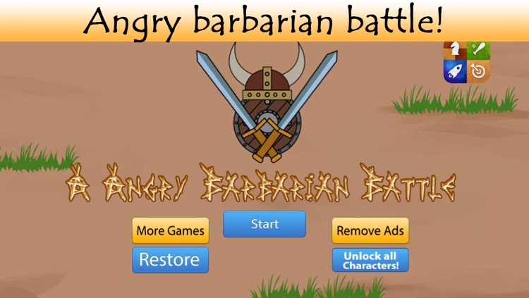 An Angry Barbarian Battle screenshot-0
