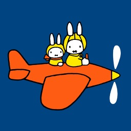 Miffy flies