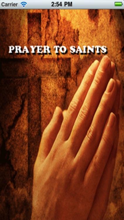 Prayer to Saints